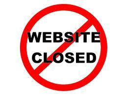 website closed