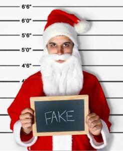Some folks are as fake as Santa Claus!