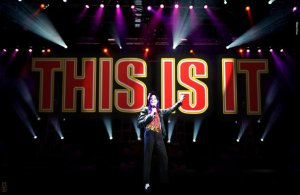 MJ 2012 This Is It sign